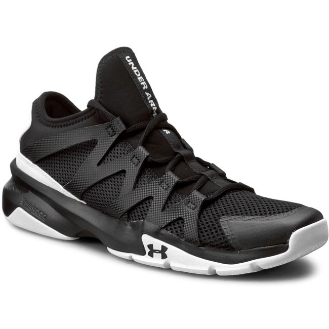 Обувки UNDER ARMOUR - Ua Charged Phenom 2 1274404-001 Blk Wht Gph ... 3d2bfc1ac356