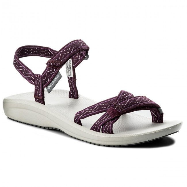 Sandali COLUMBIA - Wave Train BL4530 Dark Raspberry/White 520