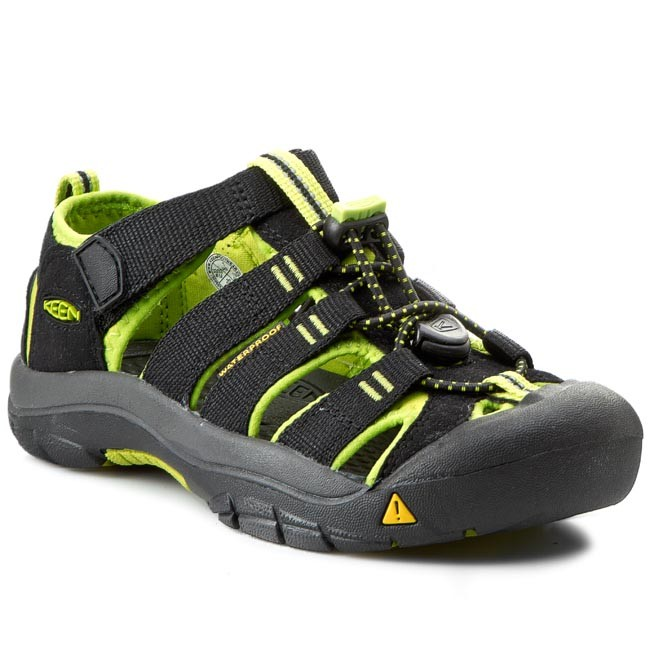 548091faa85 Сандали KEEN - Newport H2 1009965 Black/Lime Green - Сандали - Чехли ...