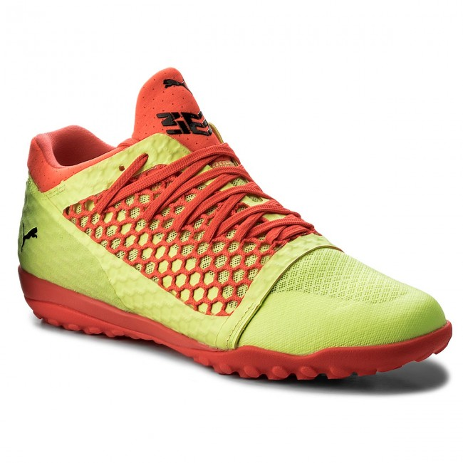Обувки PUMA - 365 NetFit St 104475 05 Yellow/Red/Black