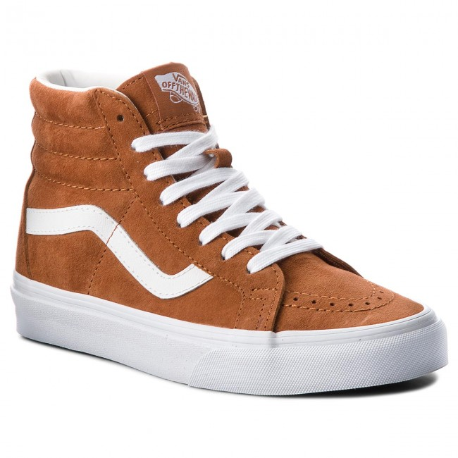 Сникърси VANS - Sk8-Hi Reissue VN0A2XSBU5K (Pig Suede) Leather Brown