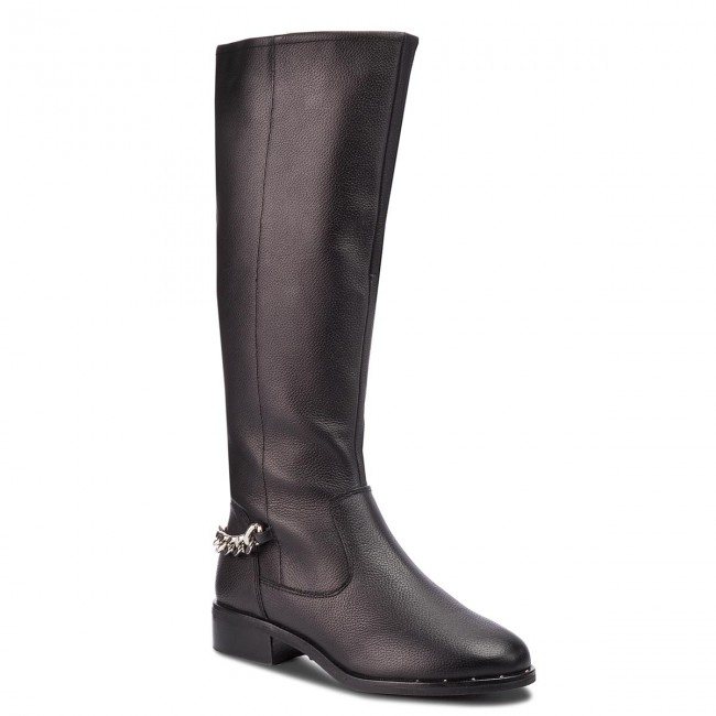 Офицерки STEVE MADDEN - Rain Boot SM11000180-03001-017 Black Leather