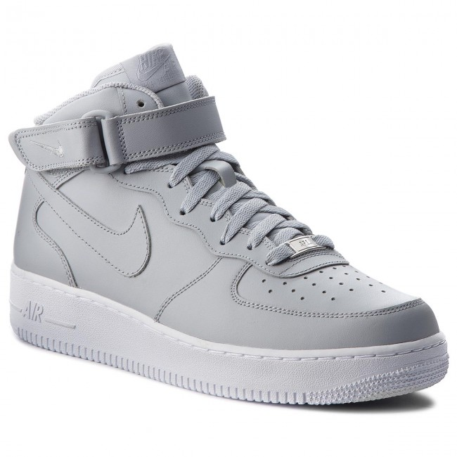 bd95e97cc70 Обувки NIKE - Air Force 1 Mid '07 315123 046 Wolf Grey/Wolf Grey ...