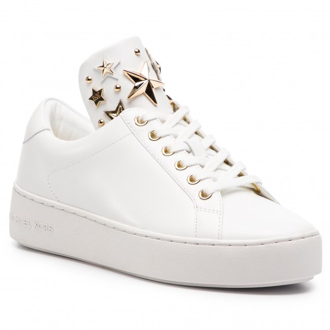 Сникърси MICHAEL MICHAEL KORS - Mindy Lace Up 43R9MNFS6L  Optic White