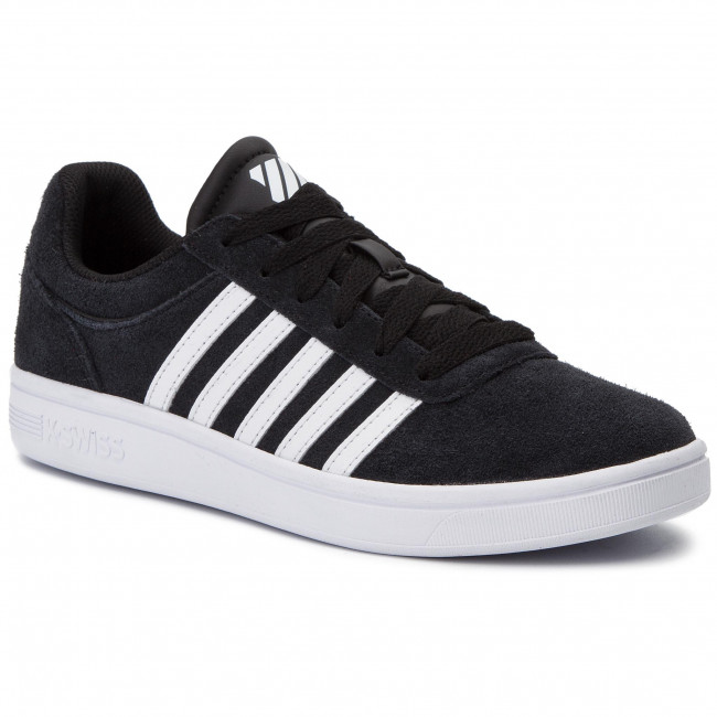 Сникърси K-SWISS - Court Cheswick Sde 05676-002-M Black/White
