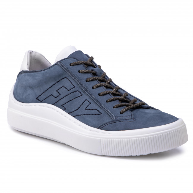 Сникърси FLY LONDON - Sepafly P601355003 Blue Grey/Offwhite White Sole