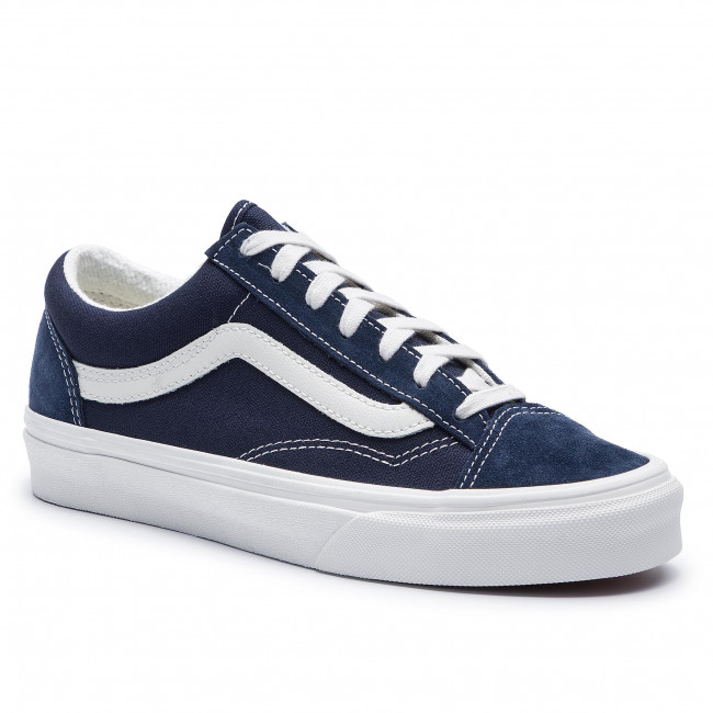 Гуменки VANS - Style 36 VN0A3DZ3VTE1 Dress Blues/Blanc De Blan