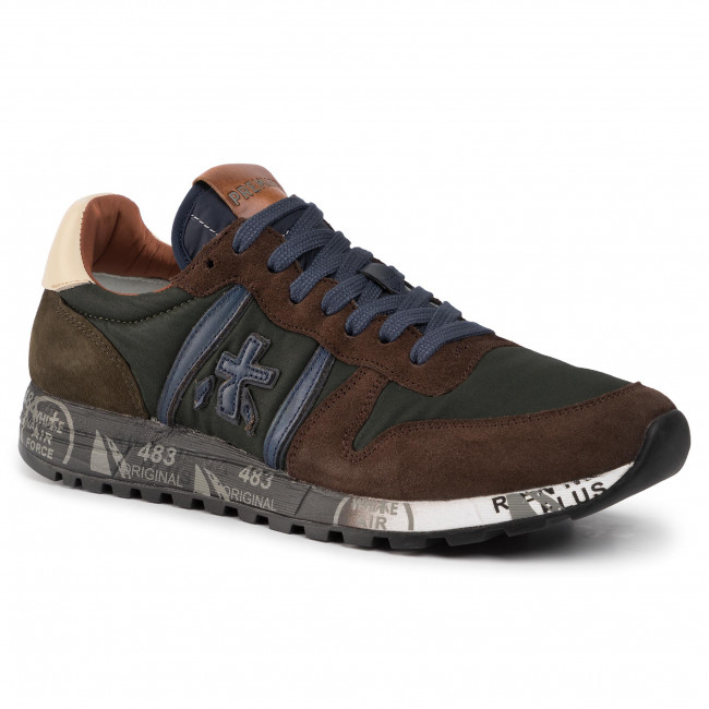 Сникърси PREMIATA - Eric 4215 Green/Brown
