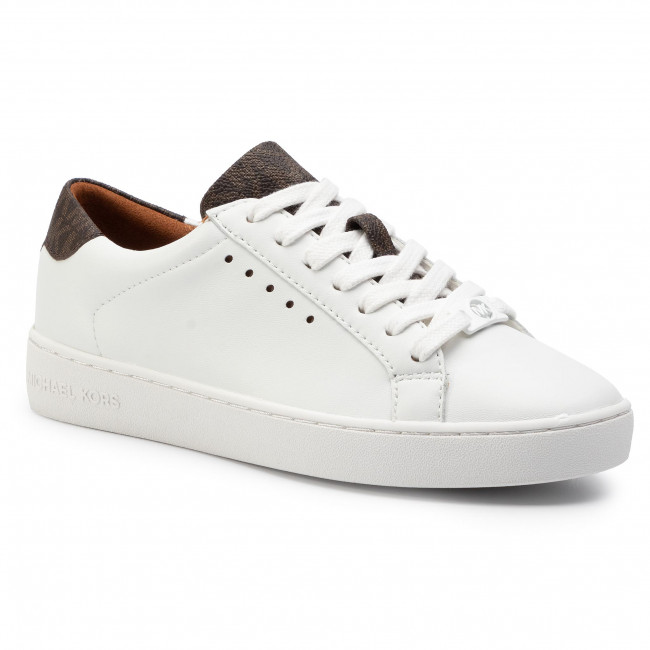 Сникърси MICHAEL MICHAEL KORS - Irving Lace Up 43S7IRFS3L Op Wht/Brown