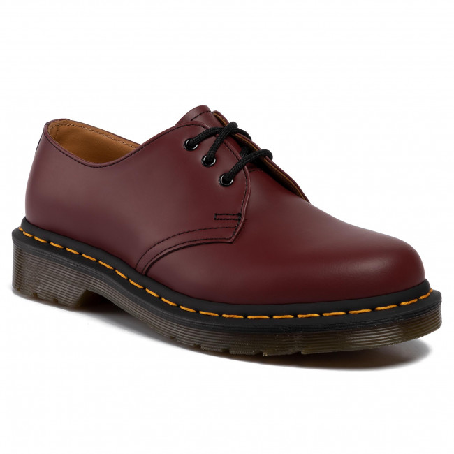 Обувки DR. MARTENS - 1461 11838600 Cheery Red/Smooth