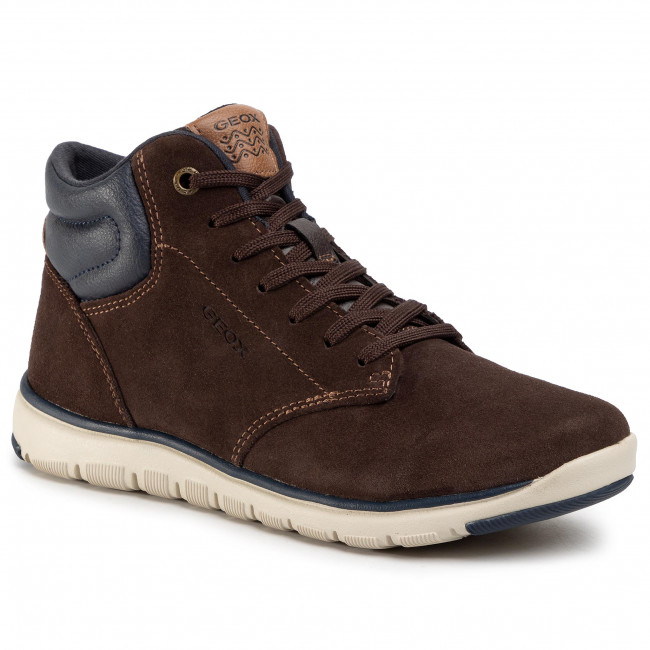 Обувки GEOX - J Xunday B. A J843NA 022BC C0947 D Brown/Navy