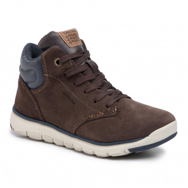 Обувки GEOX - J Xunday B. A J843NA 022BC C2286 S Brown/Navy