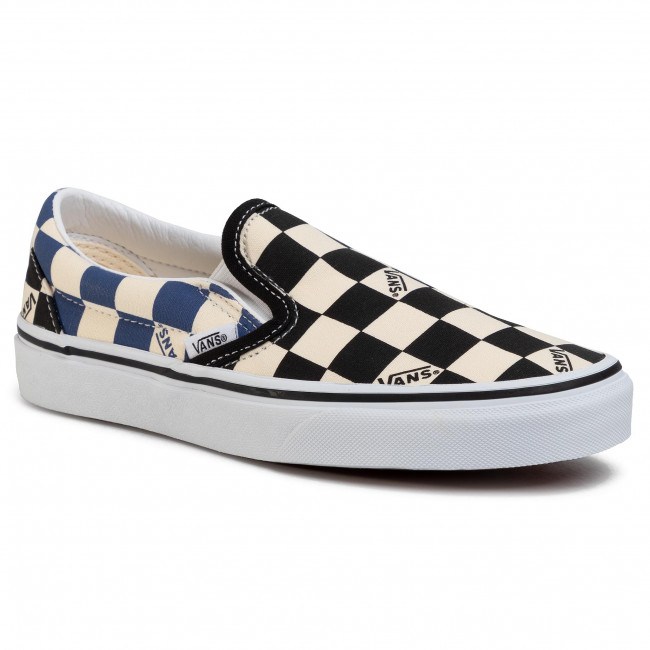 Гуменки VANS - Classic Slip-On VN0A4U38WRT1 (Big Check) Black/Navy