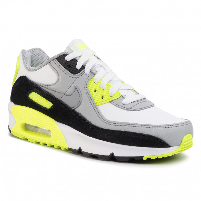 Обувки NIKE - Air Max 90 Ltr (GS) CD6864 101 White/Particle Grey
