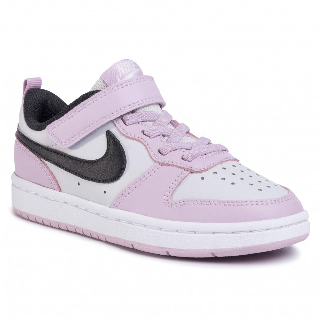 Обувки NIKE - Court Borough Low 2 (PSV) BQ5451 005  Photon Dust/Off Noir