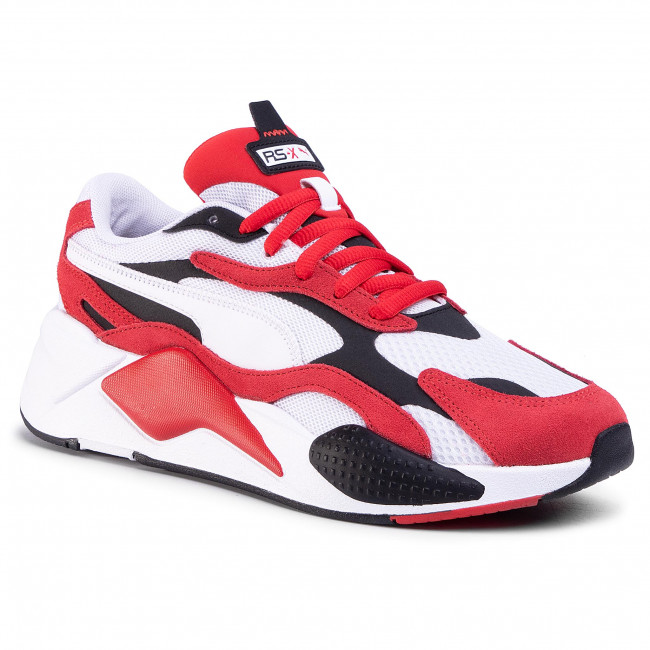 Сникърси PUMA - Rs-X³ Super 372884 01  Puma White/High Risk Red