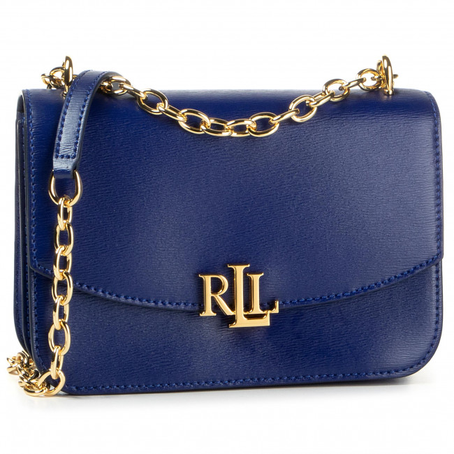 Дамска чанта LAUREN RALPH LAUREN - Madison 431746227004 Deep Blue