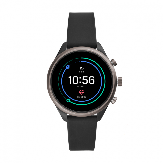 Smartwatch FOSSIL - Sport FTW6024  Black/Grey