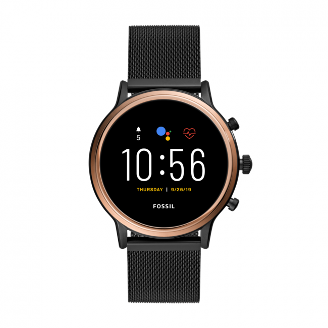Smartwatch FOSSIL - Julianna FTW6036 Black/Rose Gold