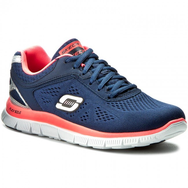 Обувки SKECHERS - Love Your Style 11728/NVHP Navy/Hot Pink