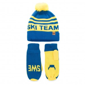 Комплект шапка и ръкавици HELLY HANSEN - Going For Gold Set 67098 Std 593 00a86dc9ef